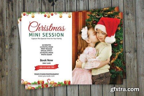 CM - Christmas Mini Session Template-V113 435058