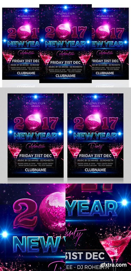 CM - New Year Party Flyer 1098458