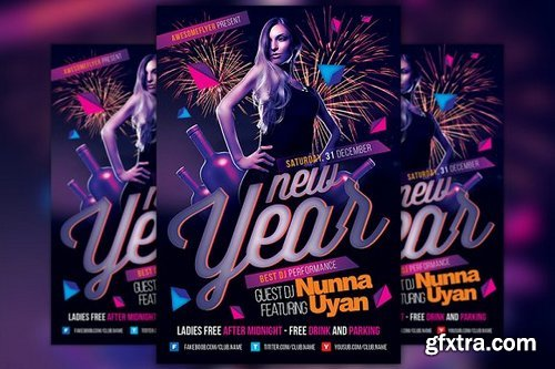 CM - New Year Party Event Flyer 1099354