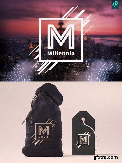 CM - 5 Modern Typography Logo Templates 1103445