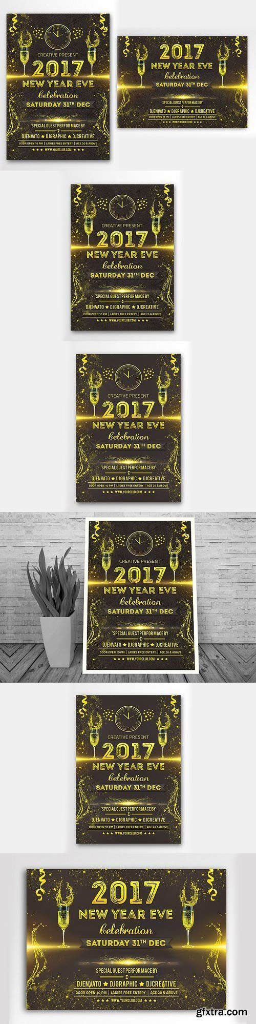 CM - New Year Party Flyer 1105450