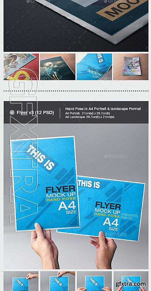 Adobe photoshop indesign after effects illustrator source files graphicriver poster flyer mock up bundle 13321127 reheart Image collections