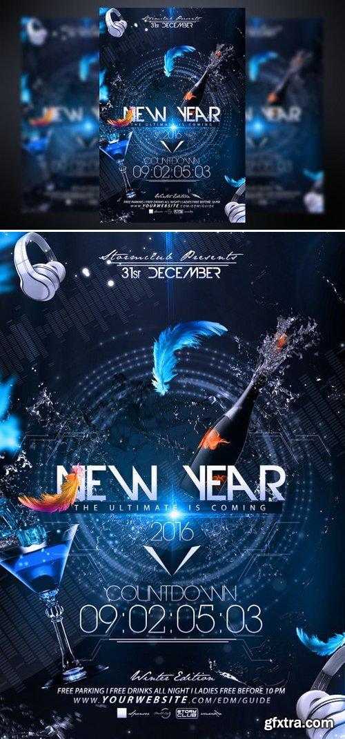 CM - New Year Countdown Flyer 469650