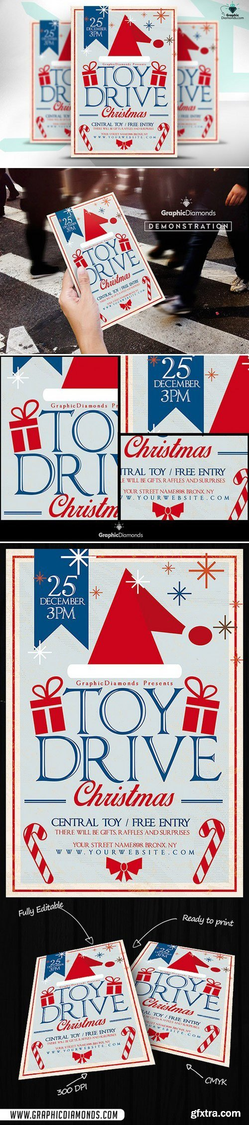 CM - Toy Drive Christmas Flyer 469017