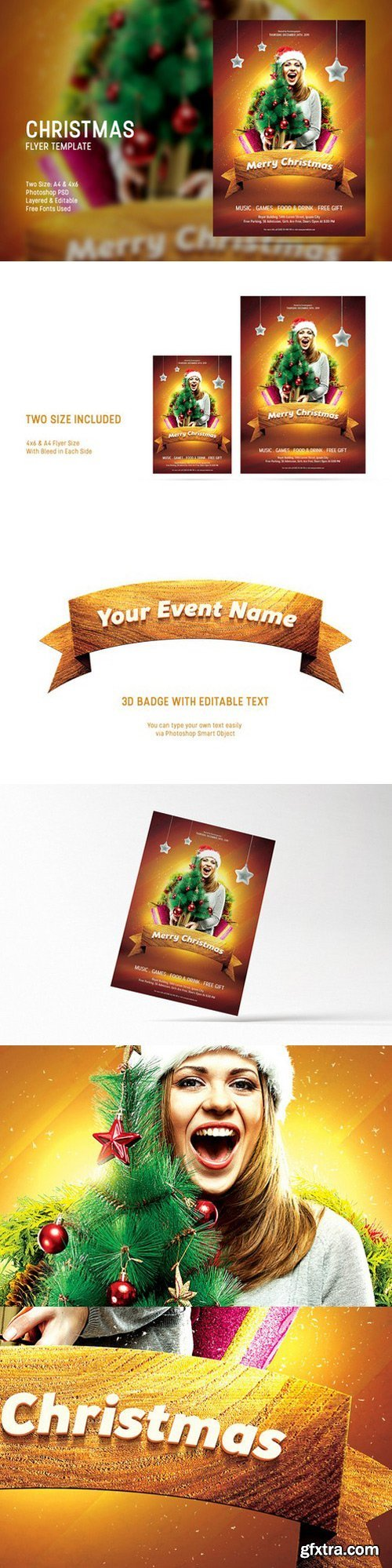 CM - Christmas Flyer Template 425712