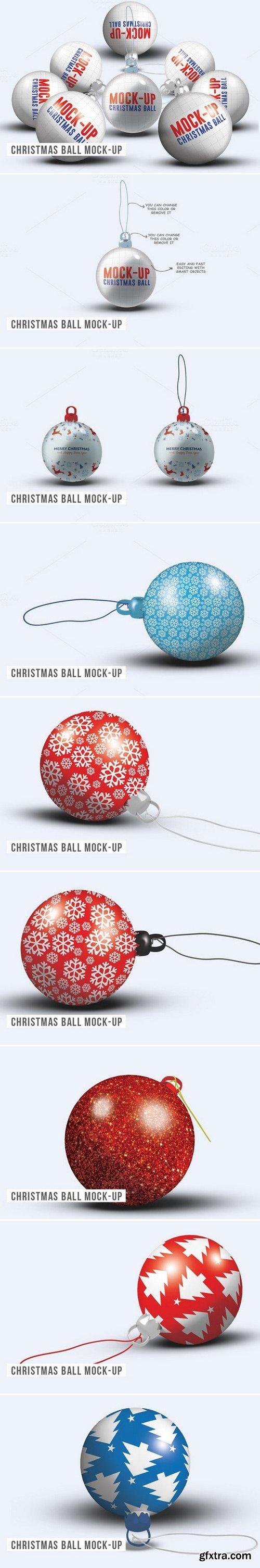 CM - Christmas Ball Mock-up 466035