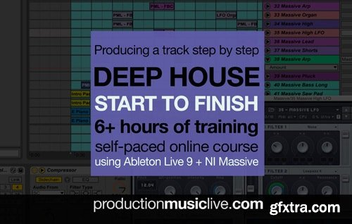 Production Music Live Deep House Track From Start To Finish TUTORiAL-TZG