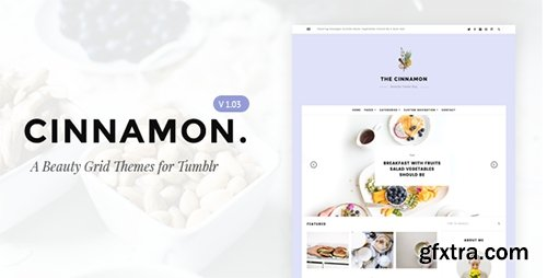ThemeForest - Cinnamon v1.03 - Casual Grid Tumblr Themes - 15291763