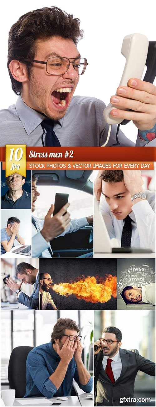 Stress men 2, 10 x UHQ JPEG