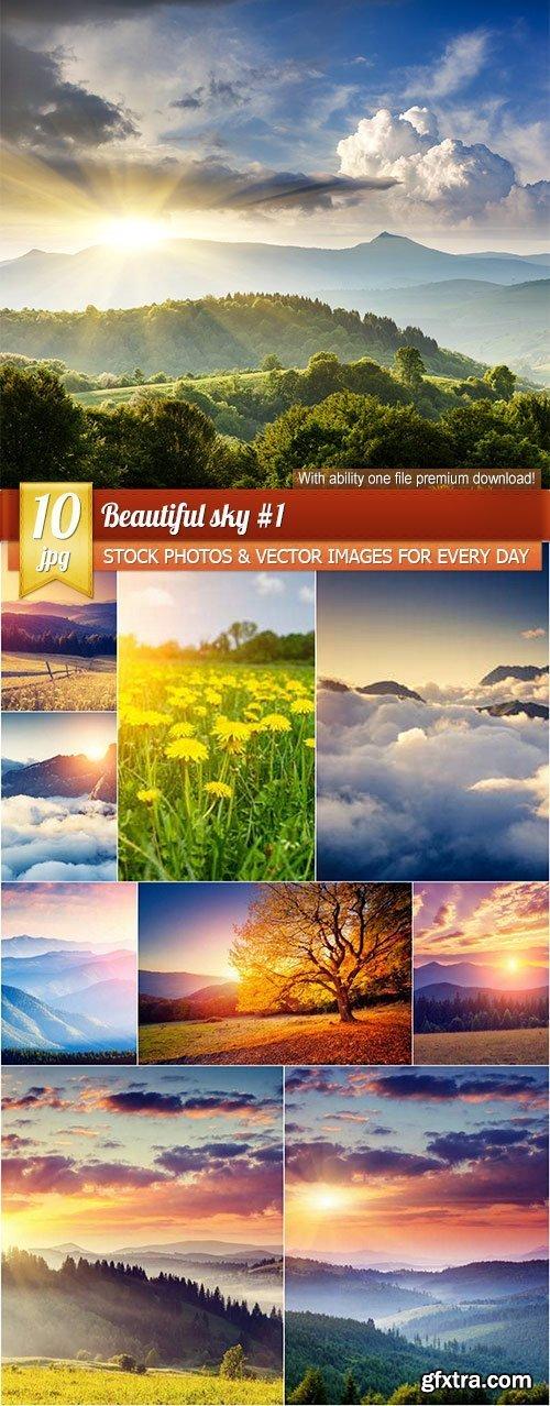 Beautiful sky #1, 10 x UHQ JPEG