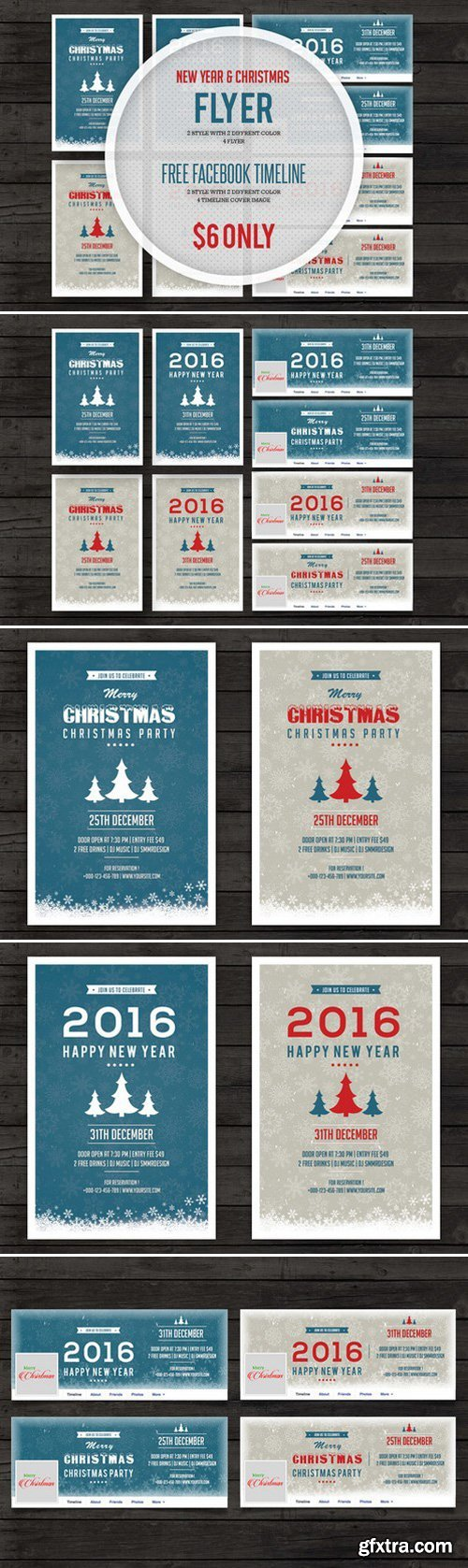 CM - New Year 2016 & Christmas Flyer 442370