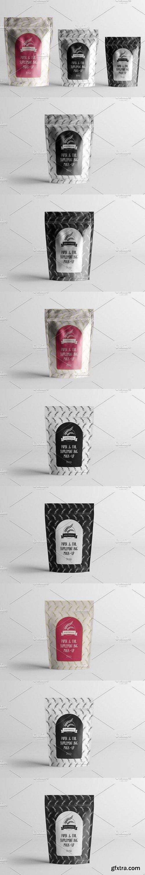 CM - Paper/Plastic/Foil Blank Mock-Up 1099238