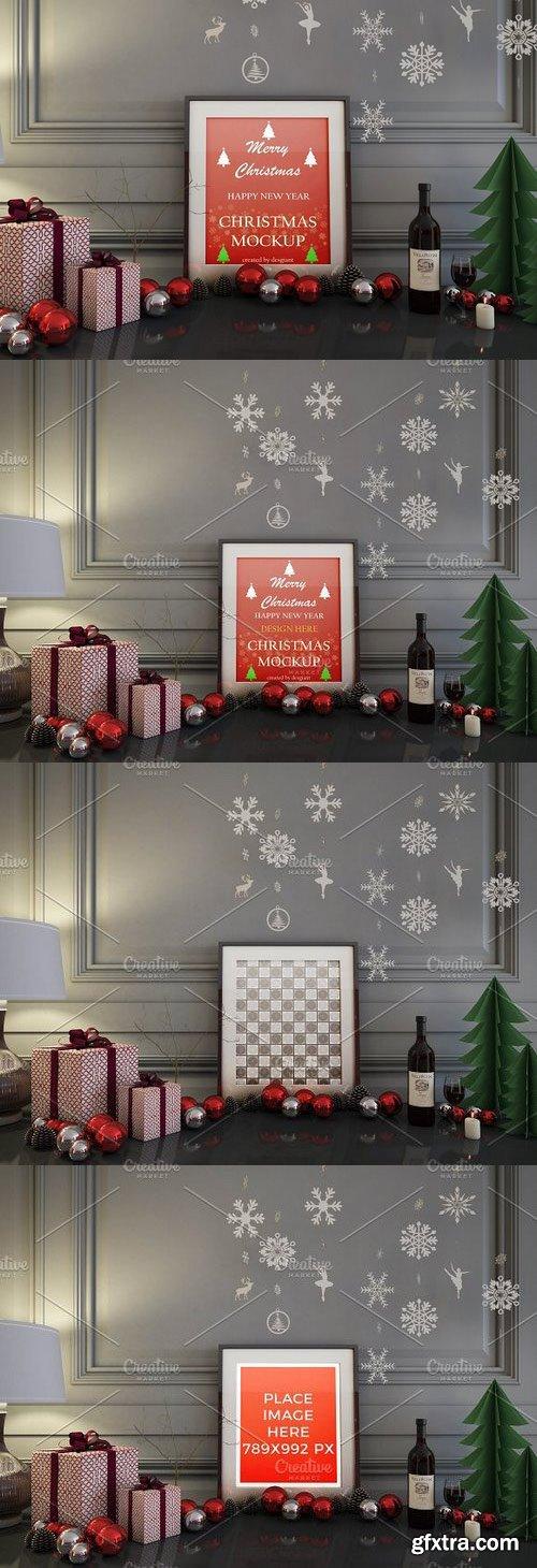 CM - Realistic Christmas Mockup 1115553