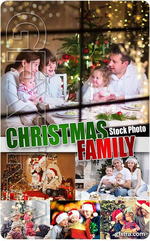 Christmas family - UHQ Stock Photo