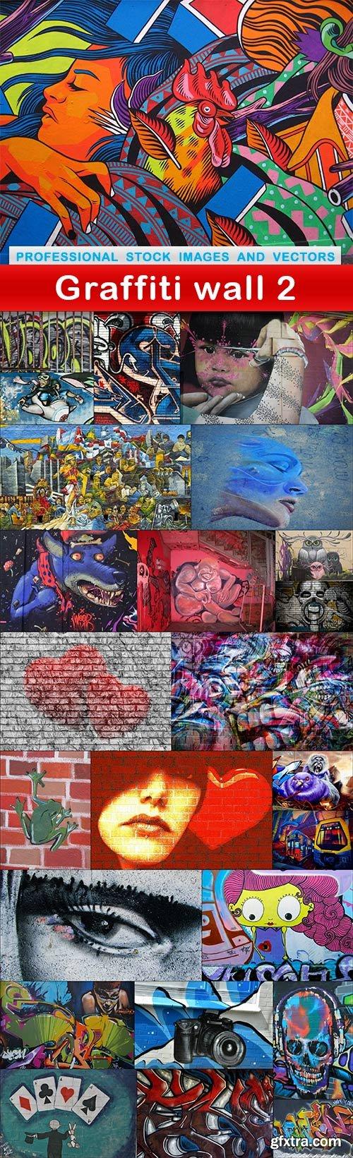 Graffiti wall 2 - 25 UHQ JPEG