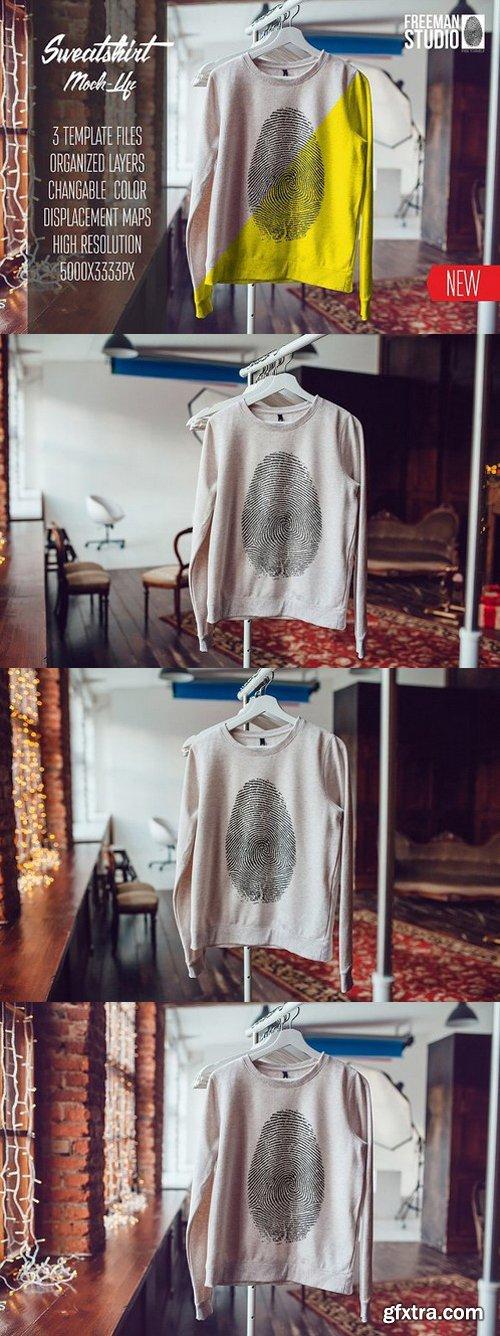 CM - Sweatshirt Mock-Up 1096851