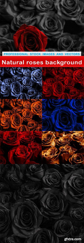 Natural roses background - 8 UHQ JPEG