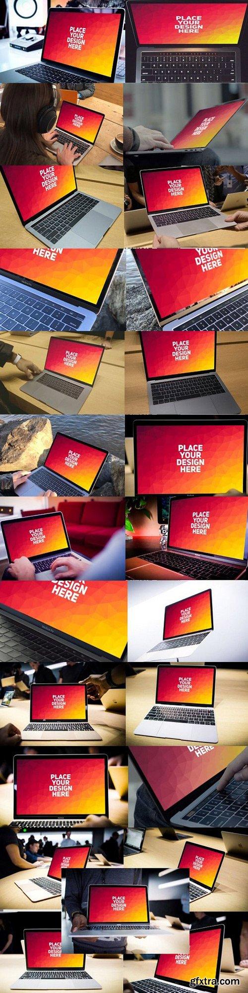 CM - MEGA BUNDLE! - 50 MacBook Mock-up#2 1098589