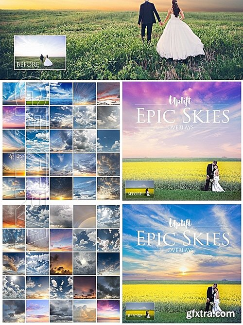 CM - EPIC Skies Cloud Overlays Action 1120305