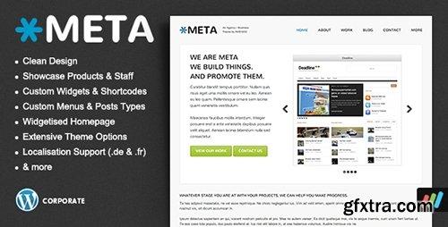 ThemeForest - Meta v1.1.2 - Agency / Business / Corporate WordPress Theme - 1969789