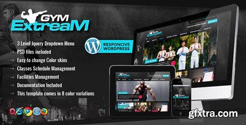 ThemeForest - Gym Extream v1.7 - Gym and Fitness Wordpress Theme - 3581558