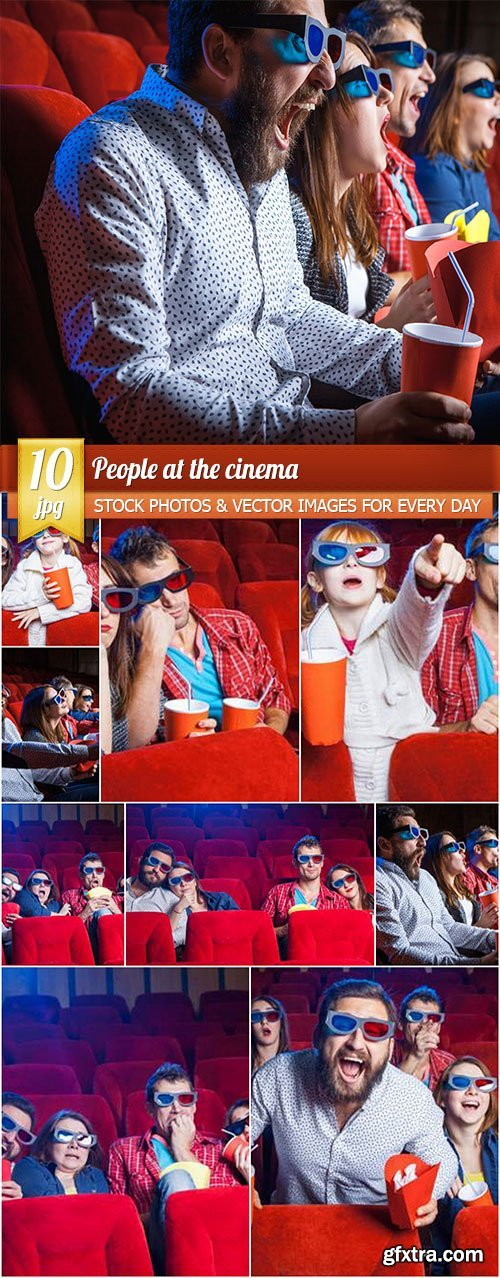 People at the cinema, 10 x UHQ JPEG