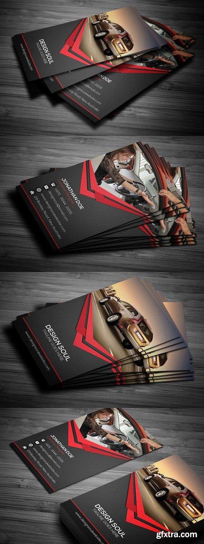 CM 698623 - Rent A Car Business Card