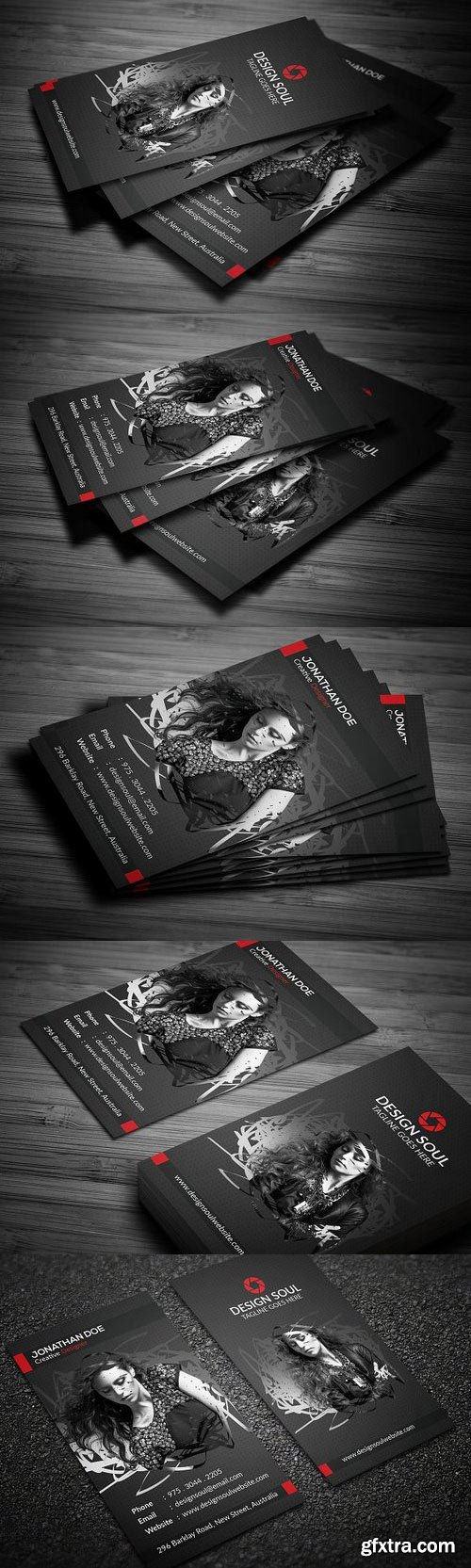 CM 698609 - Photography Business Card