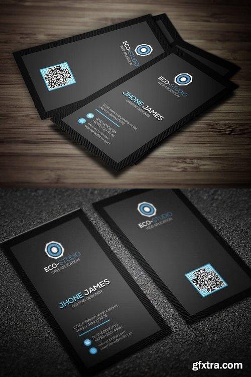 CM 698442 - Creative Clean Business Card