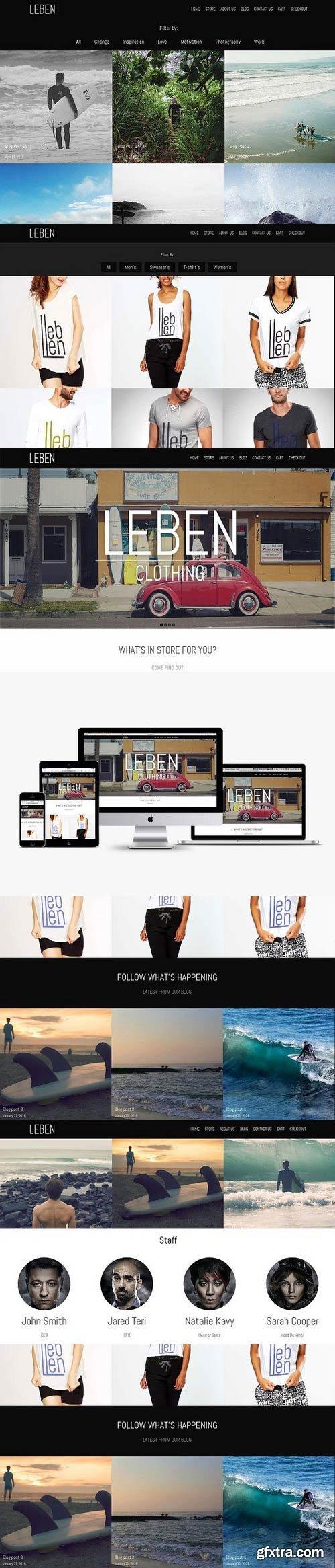 CM 700386 - Leben Theme Bundle for eCommerce