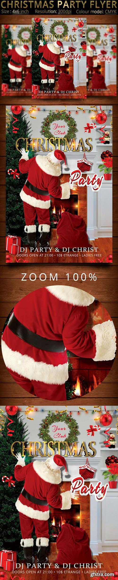 CM - Christmas New Year Party Flyer 1070735