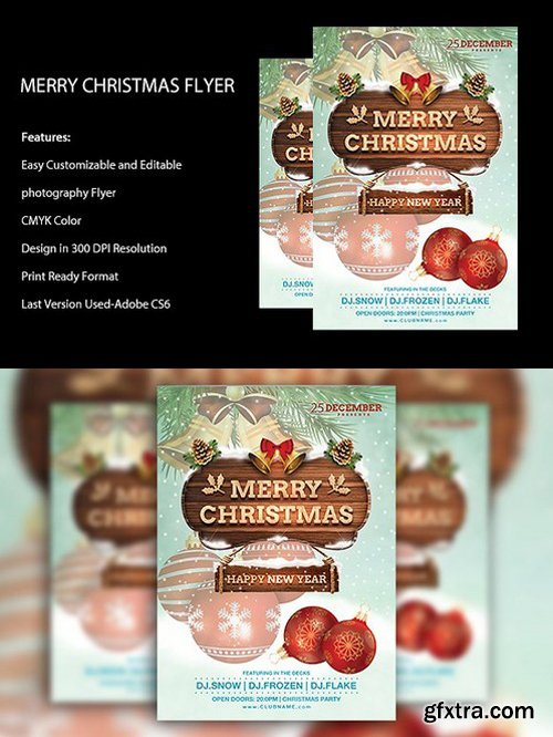 CM - Christmas Party Flyer 1070771