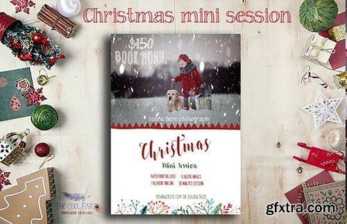 CM - Christmas Mini Session Template 1042112