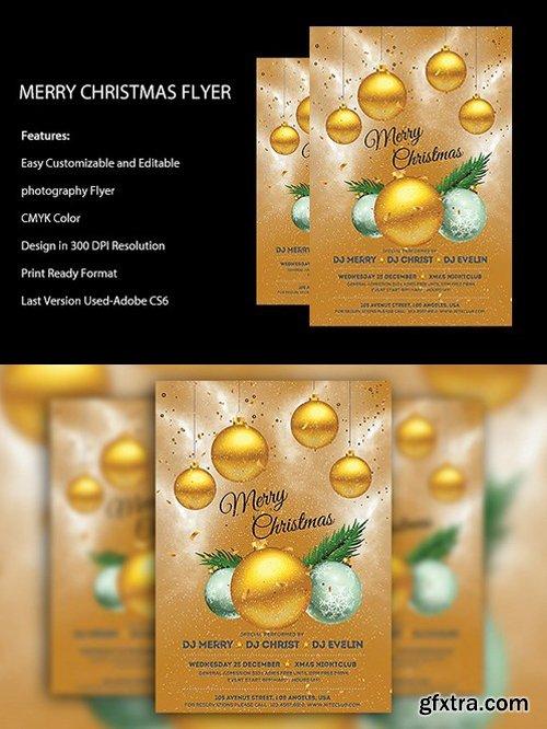 CM - Merry Christmas Flyer Template 1070945