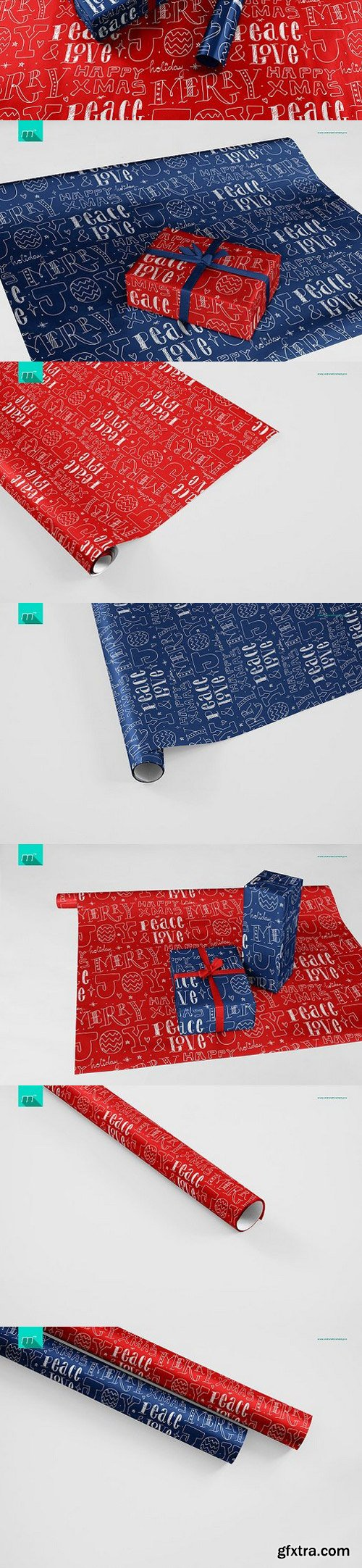 CM - Gift Wrapping Paper Mock-up 1100717
