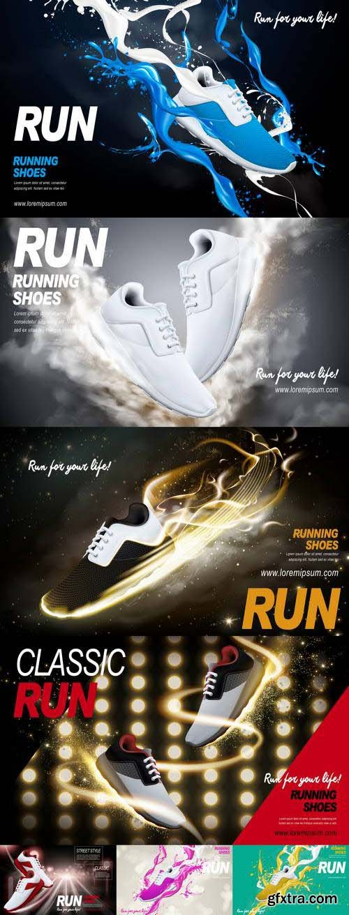 Running Shoes Ad
