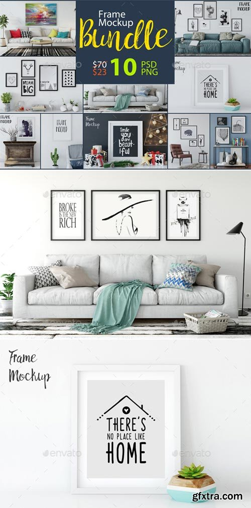 GraphicRiver - Frame Mockup Bundle Vol 1 - 19079648