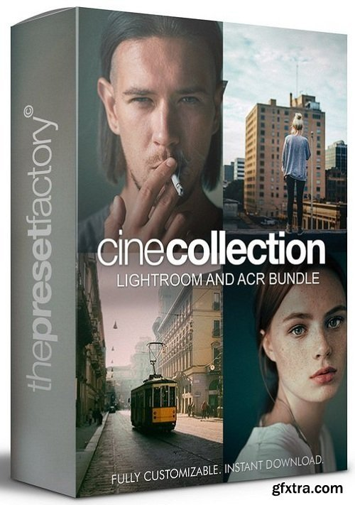 The Preset Factory - Cine Collection Bundle Lightroom and ACR Presets