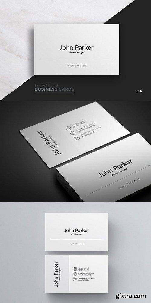 CM - Clean Business Card 984129