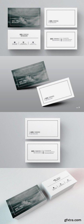 CM - Modern & Clean Business Card 984244