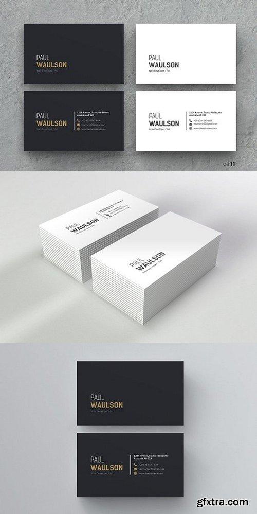 CM - Clean Business Card 984347