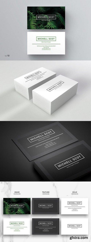 CM - Modern Business Card 984369