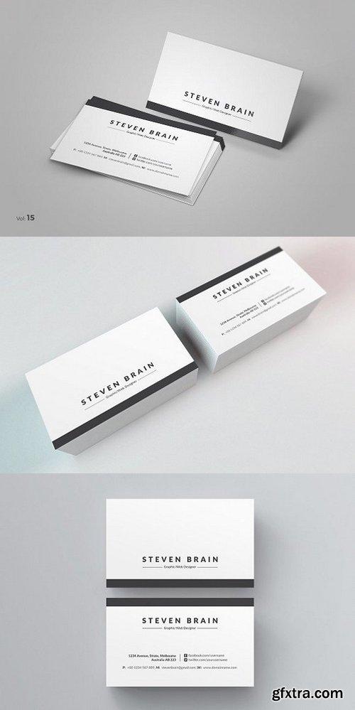 CM - Clean Business Card 984439