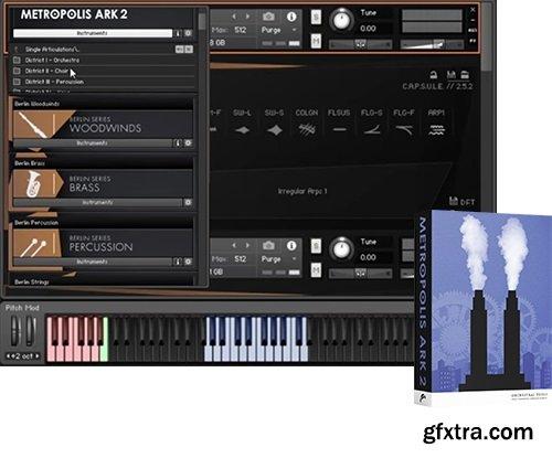 Orchestral Tools Metropolis Ark 2 v1.1 KONTAKT-DECiBEL