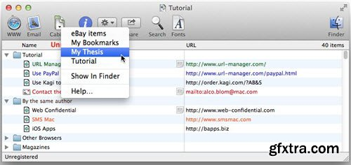 URL Manager Pro 5.3.1 macOS