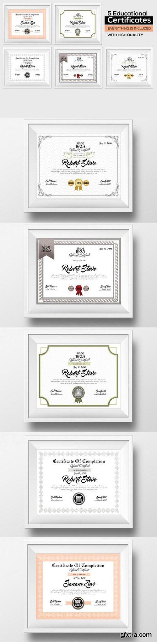 CM - 5 Certificate & Diploma Bundle 783079
