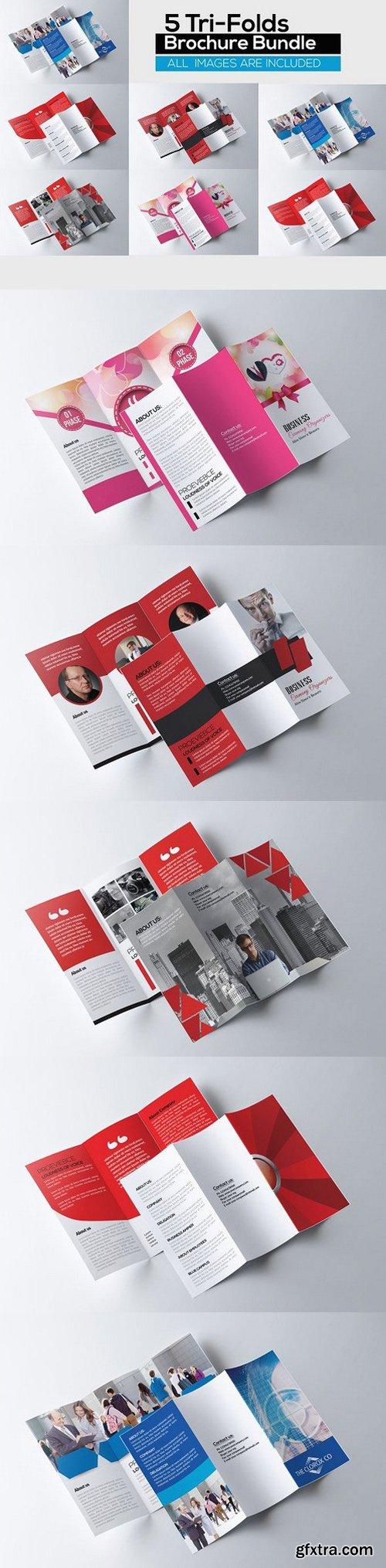 CM - 5 Corporate Tri Fold Bundle 786573