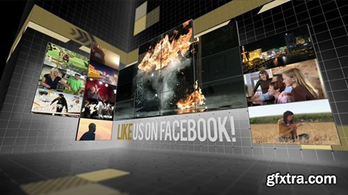 Videohive Creative Video Wall Presentation 3935621