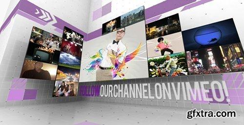 Videohive Creative Video Wall Presentation 3935621