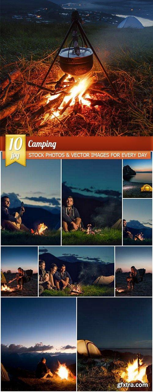 Camping, 10 x UHQ JPEG